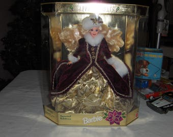 1996 Barbie Holiday Special Edition doll