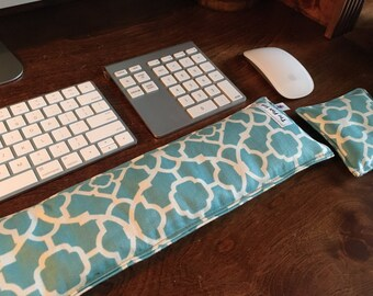 Keyboard Pad Mouse Pad - Ergonomic Wrist Rest Heat Pack- school supplies - Support Wrist Typing - graduation - teacher - carpal tunnel