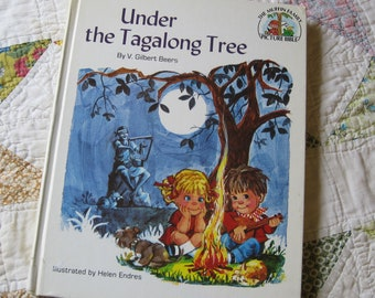 Under the Tag a Long Tree a Vintage 1976 V Gilbert Beers Picture Bible Storybook