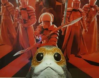 Star Wars the Last Jedi fan made Porg