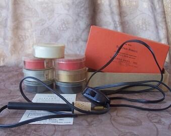 Vintage Electro-Pencil library use book marking set.  C2-896-0.