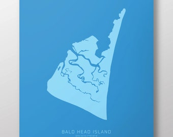 "Bald Head Island 14"" x 20"" Print"