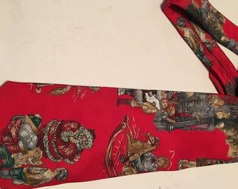 wembley santa claus vintage tie