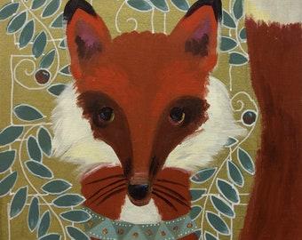 Red Fox Original Acrylic