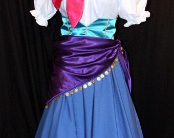 Hunchback ESMERELDA Gypsy CHILD COSTUME