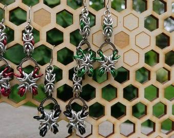 X Byzantine Earrings