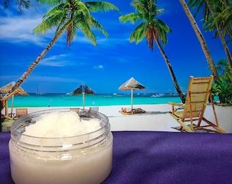 Natural Coconut Lime Sugar Scrub