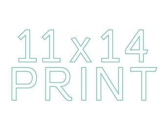 Make any print 11x14