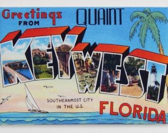 Greetings from Key West Florida Fridge Magnet