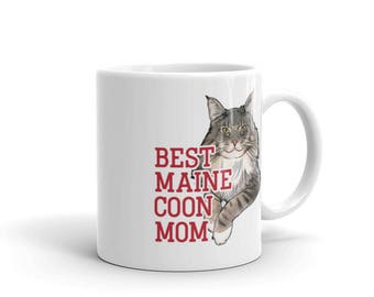 Maine Coon Cat Gift - Best Maine Coon Mom Mug