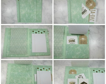 Mambi Happy Planner cover-Mint- mambi | create 365 | me & my big ideas | back cover only