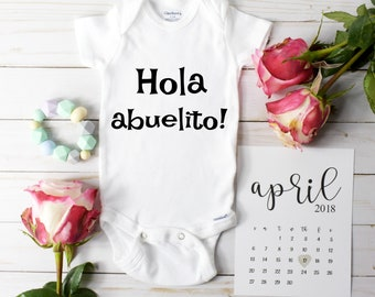 Baby Announcement Spanish