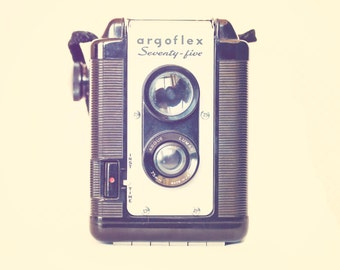 Vintage Camera - 8x10 photograph - The Argoflex - fine art print - vintage photography - Camera photograph - gift for photographer