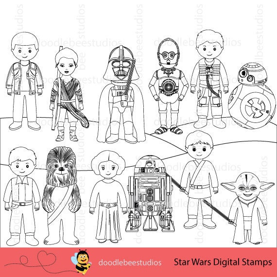 star wars digital stamps star wars clipart star wars clipart star lee coloring pages leia cape coloring page