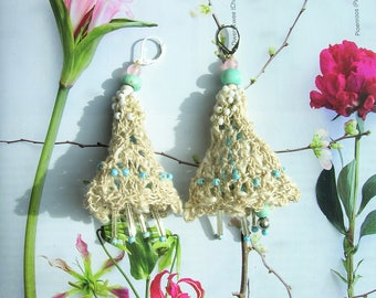 Boho Earrings**Handmade Earrings**Gypsy earrings