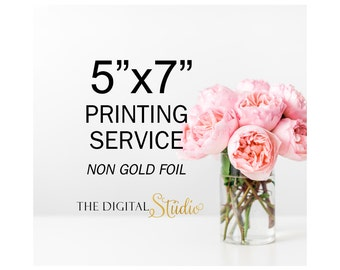 "Printing Service, 5""x7"" Print, Get your instant download printed and mailed."