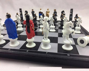 Colourful Chess Set