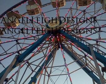 Ferris Wheel, Bath, NY digital download