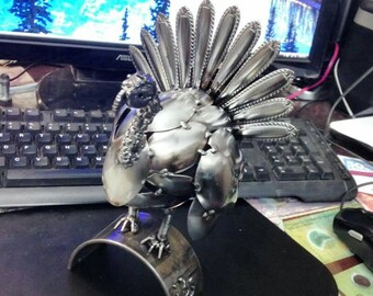 Hanmade Turkey, spoons welder  scrap metal art by JBS