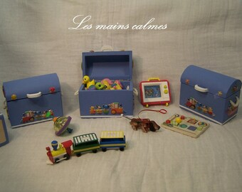 Miniature Toy chest 10eme and 12eme