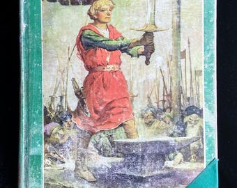 King Arthur and His Knights Vintage Book
