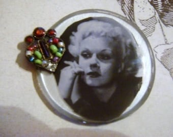 Series Star-(Portrait of Jean Harlow) Cabochon