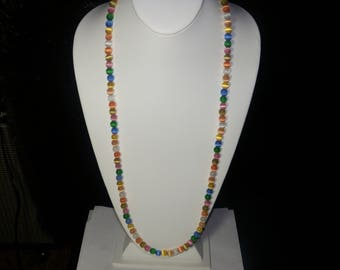 A Cute Cats Eye Beaded Necklace. (2017232)