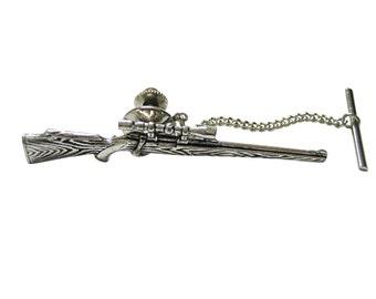 Sniper Rifle Tie Tack