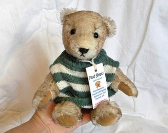 Kunstenaar Mohair Bear - verzamelaars Teddy Bear - 9 inch Bear - gemaakt voor Pud Bears - Ivan