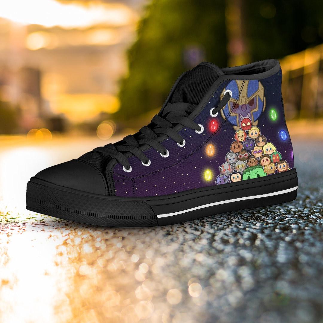 03f11dafc8c Avengers Infinity War shoes Avengers High Tops Avengers Sneakers ...