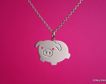 Little Pig Necklace