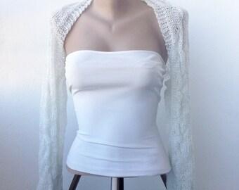 Long Sleeve Bolero, Winter Wedding Shrug, Winter Wedding Bolero, Long Sleeve Shrug, Winter Bridal Shrug, Winter Bridal Bolero