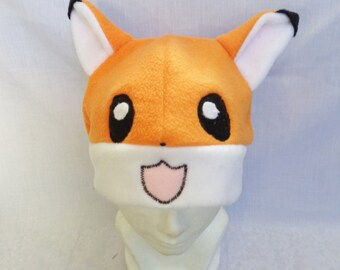 Kawaii fox hat