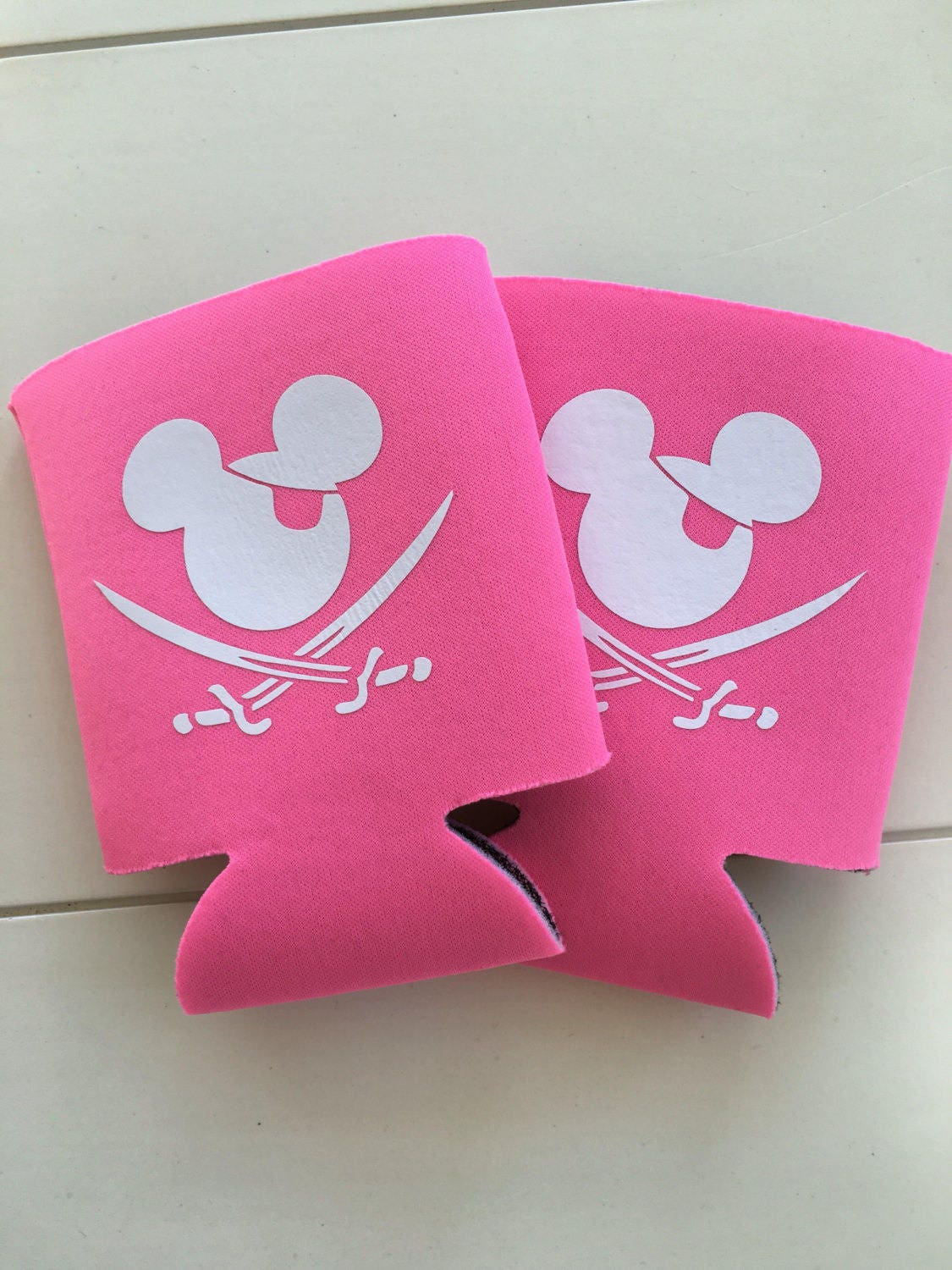 Mickey pirate can coolers fish extender gift Pirate Mickey