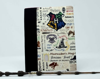 Harry Potter Magic School Composition Notebook Cover Journal