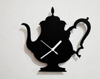 Teapot  - Wall Clock
