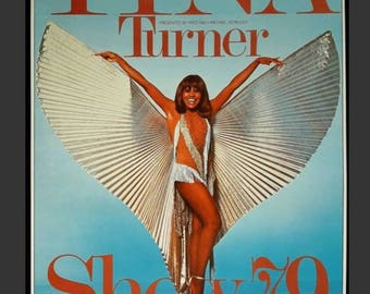 Original Tina Turner tour poster poster of 1979
