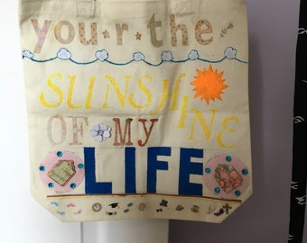 You are the sunshine of my life tote bag