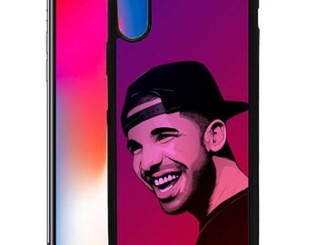 Drake Custom Print Case for iPhone 6 6s 7 8 Plus & X DR02