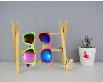 ON SALE Sunglasses Storage Rack - Sunglasses Holder - Sunglasses Stand - Monstera Leaf - Glasses Stand - Glasses Storage - Handmade - Surf G
