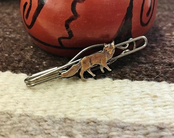 VinTAGE COPPER WOLF TiE CLIP, MenS AccESSORiES, Mens GiFTS, SouthWEST WesTERN, ShARP DrESSED MaN
