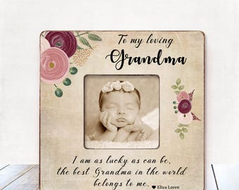 Christmas Grandma Gift Personalized Picture Frame Grandma Birthday Gift Grandmother Gift Nana Gift Mimi Gift Grandmother Christmas Gift Nana