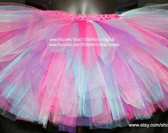 Colorful Tutu, Pastel Tutu, Easter Tutu, Unicorn Tutu, Girls Tutu Skirts, Dress Up, Rainbow Tutu, Birthday Tutu, Play tutu, Pink Tutu, Tutu