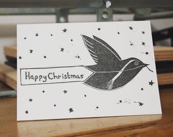 Happy Christmas Robin Card