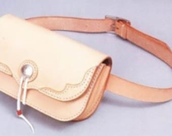 Leather bag pattern. PDF