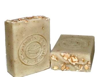 Simply Oatmeal Vegan Unscented Handmade Soap Bar