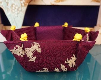 Silk Chinese Basket