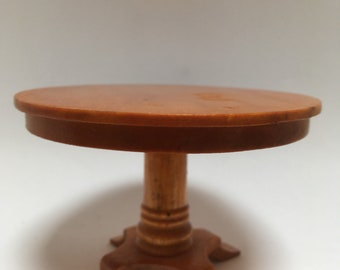 Dolls house pedestal table -Dining table