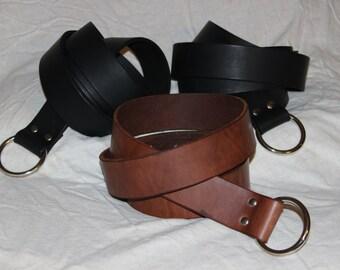 Ring belt for fantasy or historical re-enactment