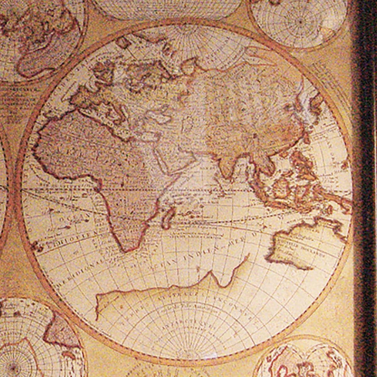 Vintage le globe terrestre 1690 world map walnutglass framed in vgc gallery photo gallery photo gallery photo gallery photo gumiabroncs Choice Image